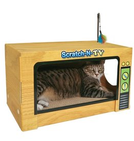 Ware Manufacturing Cat Ware Scratch-N-Television