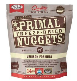 Primal Freeze Dried Canine Venison 14oz