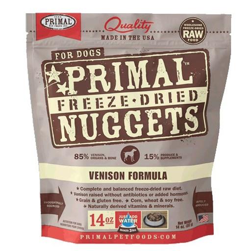 Primal Freeze Dried Canine Venison 14oz