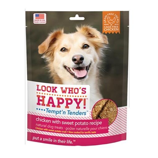 Look Who's Happy Tempt'n Tenders Chicken & Sweet Potato Crusted 4oz
