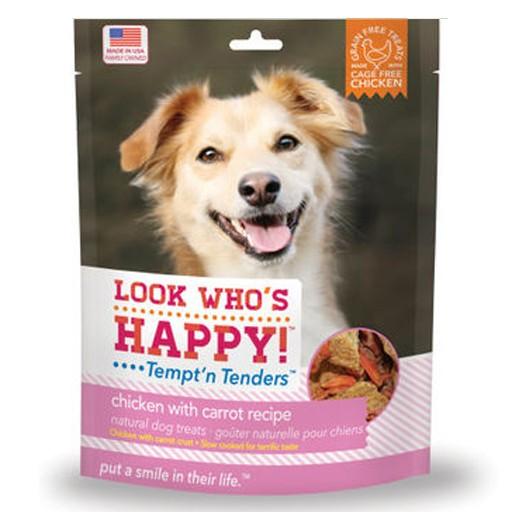 Look Who's Happy Tempt'n Tenders Chicken & Carrot Crusted 4oz