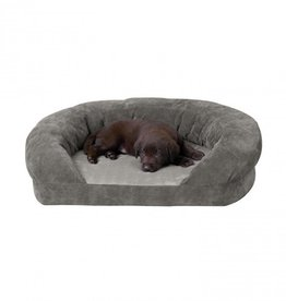 K&H K&H Ortho Bolster Sleeper Large Grey