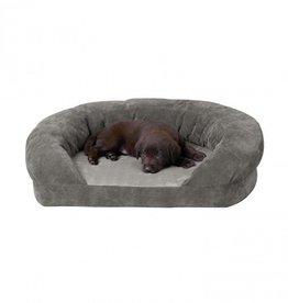 K&H K&H Ortho Bolster Sleeper Medium Grey