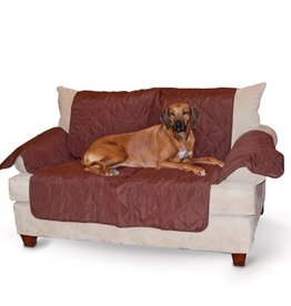 K&H K&H Economy Furniture Couch Cover Chocolate
