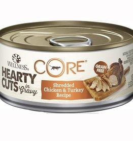Wellness Wellness Cat CORE Shredded Chicken & Turkey 5.5oz