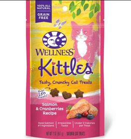 Wellness Wellness Kittles Cat Treats Salmon & Cranberry 6oz