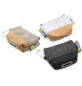 Be One Breed Poop Bag Dispenser Grey & Black