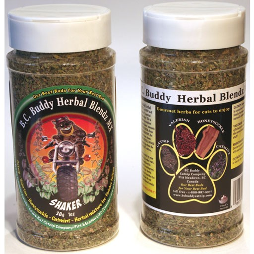 Kooky Kat Catnip Company BC Buddy Herbal Blendz Mix Shaker 28gm