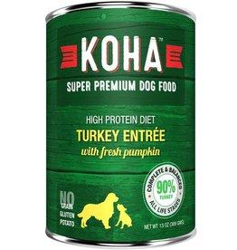 Koha Dog Can 90% Turkey Pate 13oz