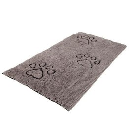 Dog Gone Smart Dirty Dog Doormat Floor Runner Grey 60x30