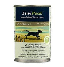 ZiwiPeak ZiwiPeak Dog Can Daily Cuisine Beef 13oz