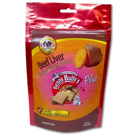 Benny Bully's Beef Liver Plus Sweet Potato 58g