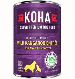 Koha Dog Can 90% Wild Kangaroo Pate 13oz
