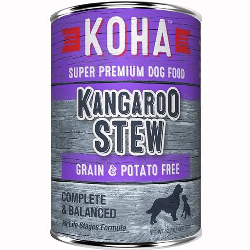 Koha Dog Can Kangaroo Stew 12.7oz