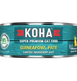 Koha Cat Can 96% Guineafowl Pate 5.5oz