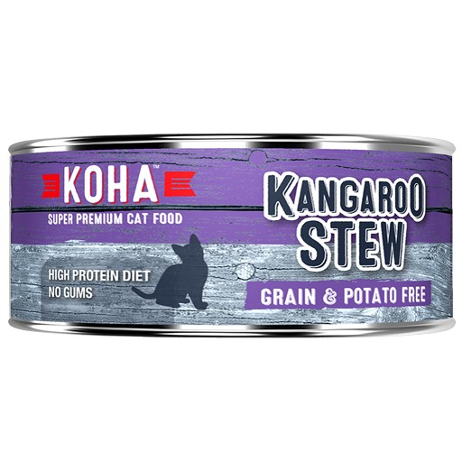 Koha Cat Can Kangaroo Stew 5.5oz