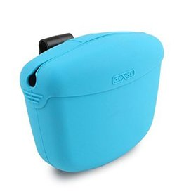Dexas Pooch Pouch Treat Dispenser Blue