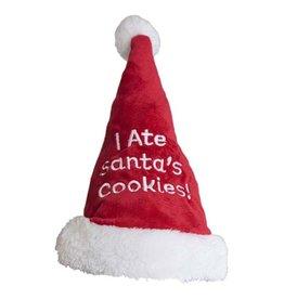 Kyjen Outward Hound I Ate Santas Cookies Hat Medium