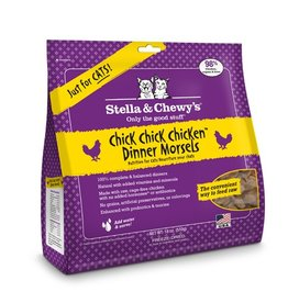 Stella & Chewy's Stella & Chewy's Freeze Dried Cat Chick, Chick, Chick Chicken Dinner 18oz
