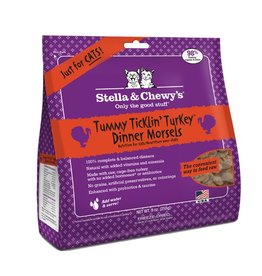 Stella & Chewy's Stella & Chewy's Freeze Dried Cat Tummy Ticklin' Turkey Dinner 9oz