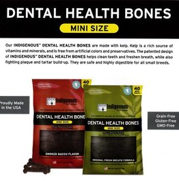 Indigenous Dental Health Bones Mini Smoked Bacon Bone 13.2oz
