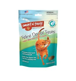 Emerald Pet Products Smart n' Tasty Feline Dental Treat White Fish 3oz