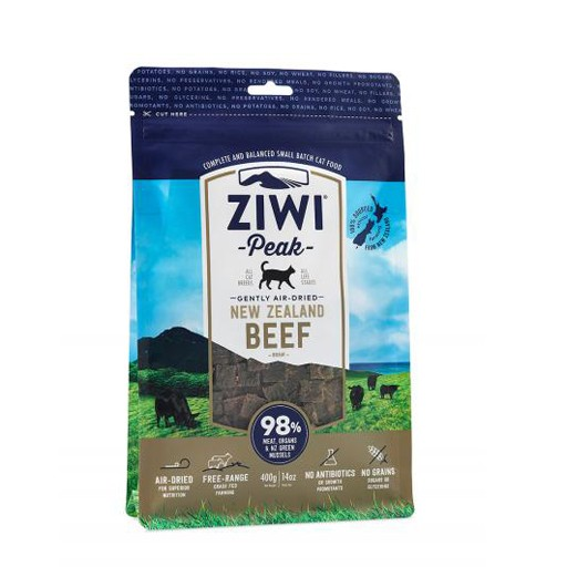 ZiwiPeak ZiwiPeak Daily Cusine Cat Pouch Beef 400g