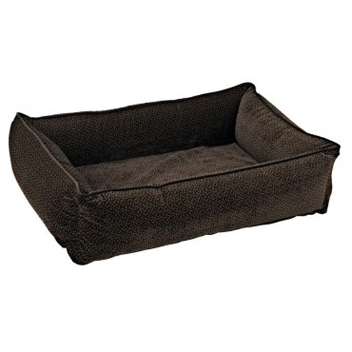Bowsers Bowsers Urban Lounger Chocolate Bones M