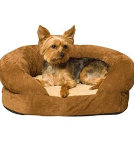 K&H K&H Ortho Bolster Sleeper Large Brown