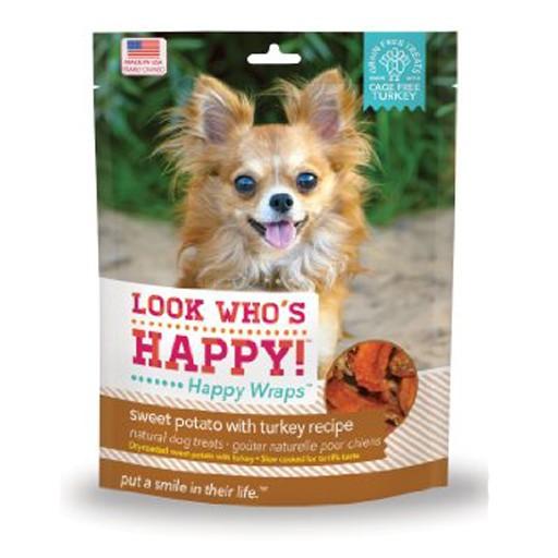 Look Who's Happy Wraps Turkey & Sweet Potato Wrap 4oz