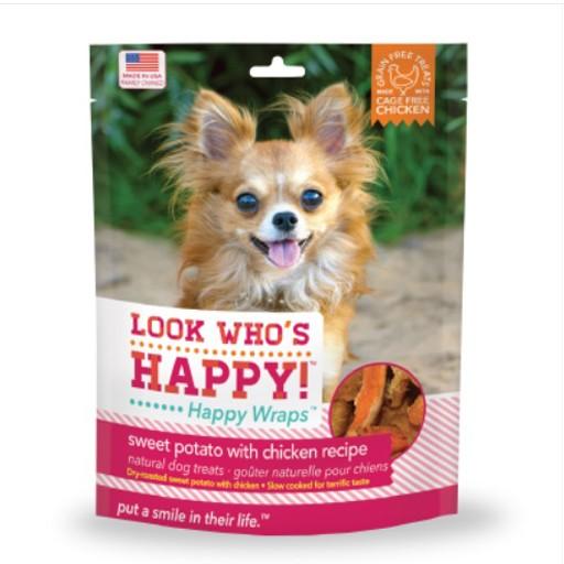 Look Who's Happy Wraps Chicken & Sweet Potato Wrap 4oz