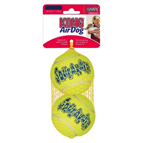 Kong Kong Air Squeaker Ball 2-Pack Large