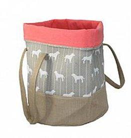"Be One Breed Toy Goody Bag Elegant Labradors 14x18"""