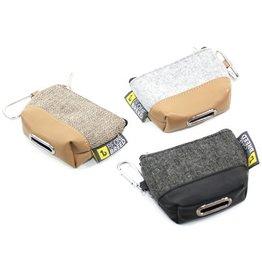 Be One Breed Poop Bag Dispenser Grey & Beige