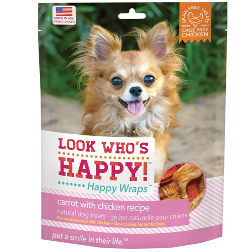 Look Who's Happy Wraps Chicken & Carrot Wrap 4oz
