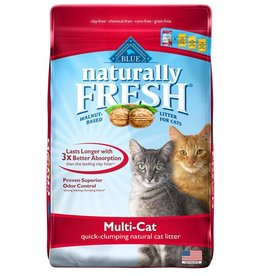 Blue Naturally Fresh Mulit-Cat Quick Clumping Cat Litter 2.72kg