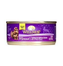Wellness Wellness Cat Can Turkey & Salmon Dinner Minced 5.5oz