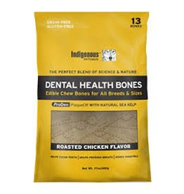 Indigenous Dental Health Bones Roasted Chicken 17oz