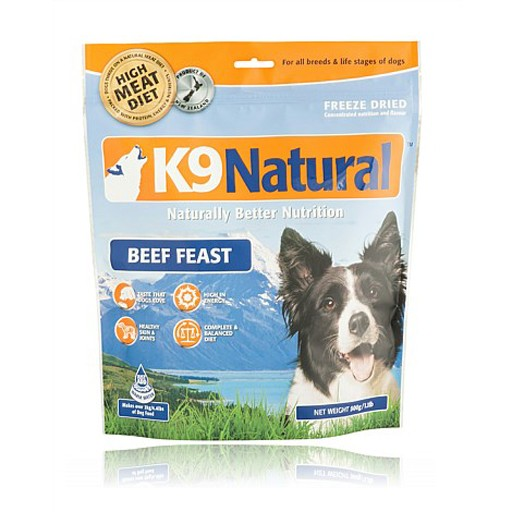 K9 Natural K9 Natural Freeze Dried Beef 500g