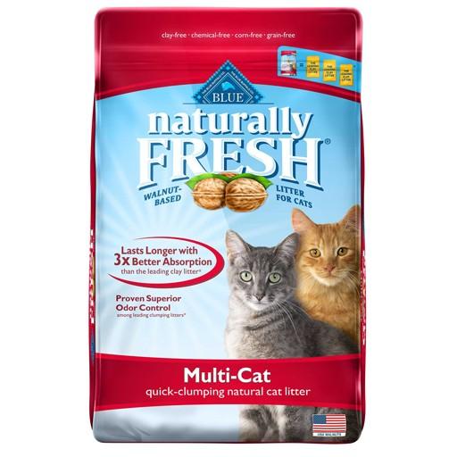 Blue Naturally Fresh Multi-Cat Clumping Cat Litter 6.35kg