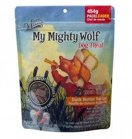 Waggers Waggers My Mighty Wolf Dog Treats Duck Hunter 150g