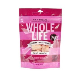 Whole Life Whole Life 100% Wild Alaskan Salmon Filet Cat Treats 1oz