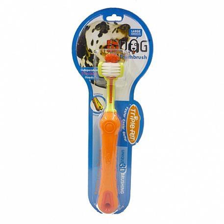 Enviro Fresh Triple Pet Toothbrush Large