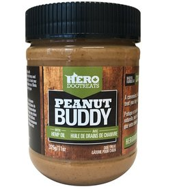 Hero Dog Treat Hero Dog Treats Peanut Buddy Peanut Butter with Hemp Oil 365g