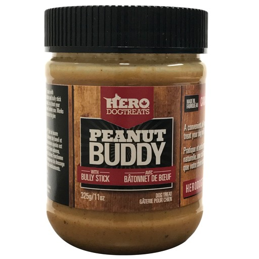 Hero Dog Treat Hero Dog Treats Peanut Buddy Peanut Butter with Bully Stick