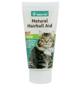 NaturVet NaturVet Natural Hairball Remedy w/Catnip Gel 3oz'