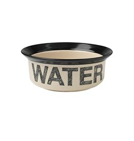 "Petrageous Petrageous Pooch Basics Water Bowl 6"""
