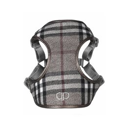 Pretty Paw Designer Harness London Fog