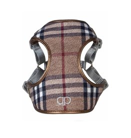 Pretty Paw Designer Harness Scotland Taupe