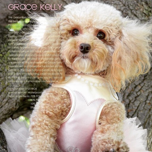 Pretty Paw Designer Harness Grace Kelly